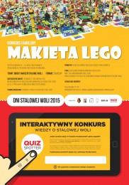 PLAKAT LEGO Dni Stalowej Woli 2015 medium