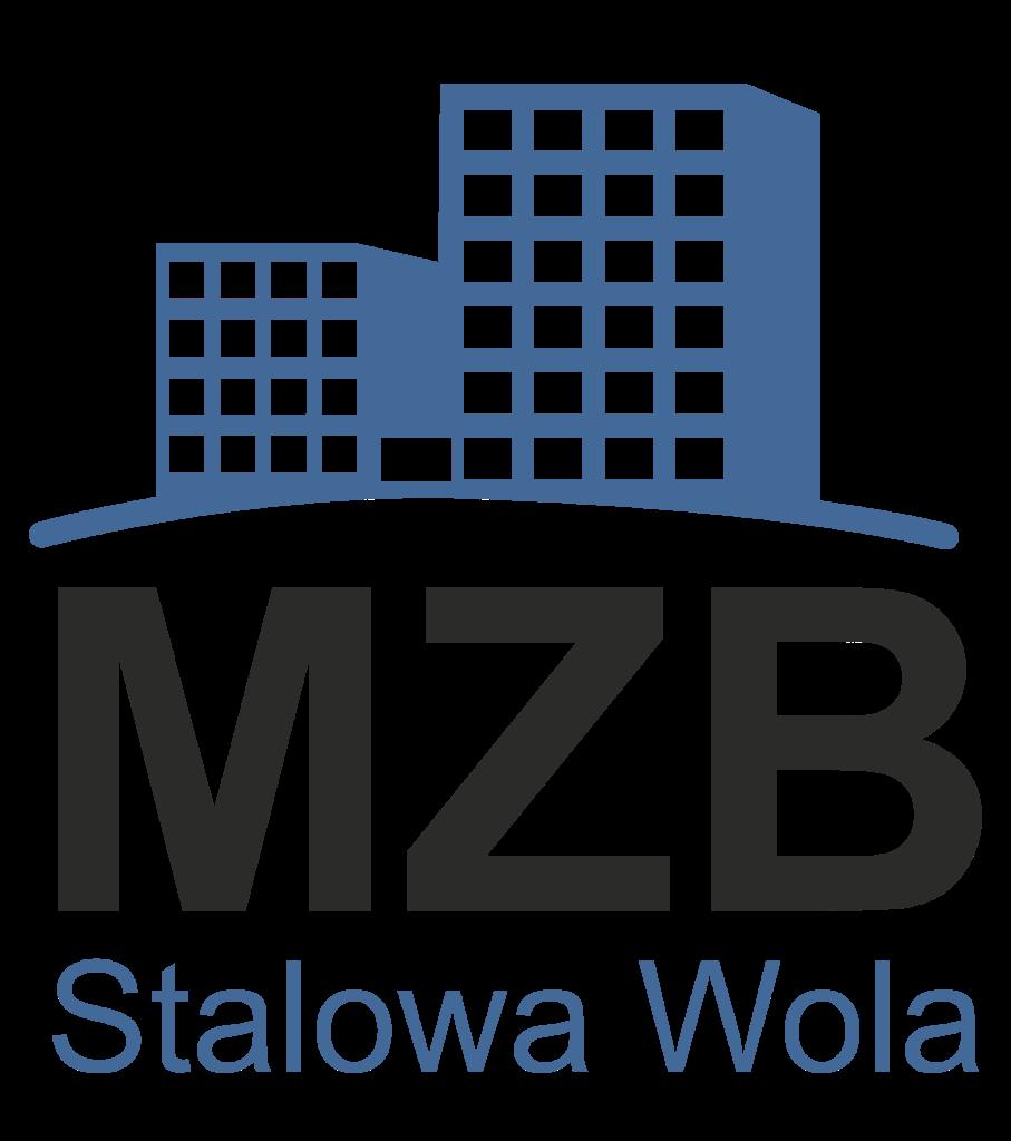 MZB logo niebieskie